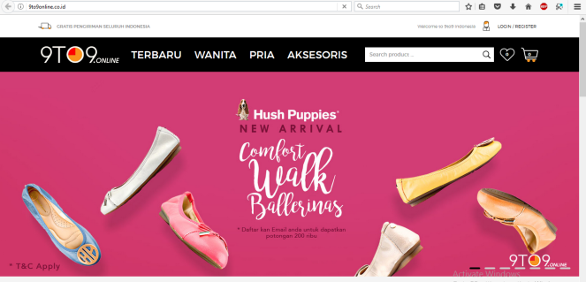 HUSH PUPPIES ONLINE